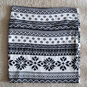Charlotte Russe Print Skirt